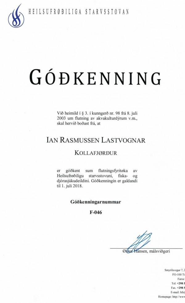 Góðkenningar 2