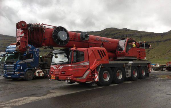 Mobilkrani 100 tons